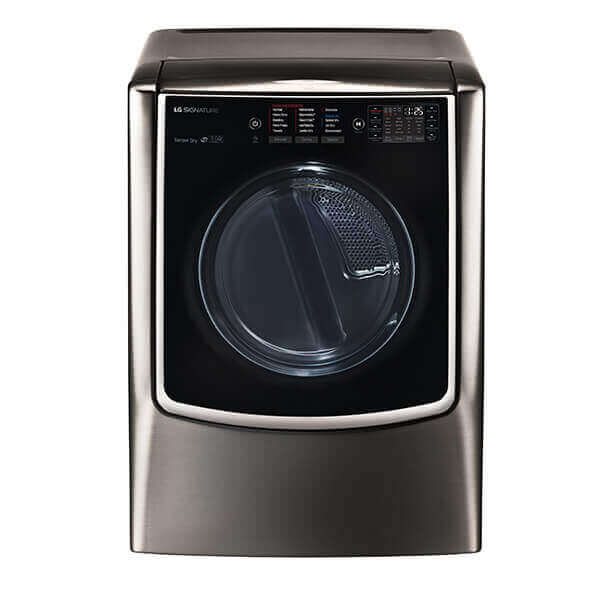 LG SIGNATURE 9.0 cu. ft. Large Smart wi-fi Enabled Electric Dryer w/ TurboSteam Product Image
